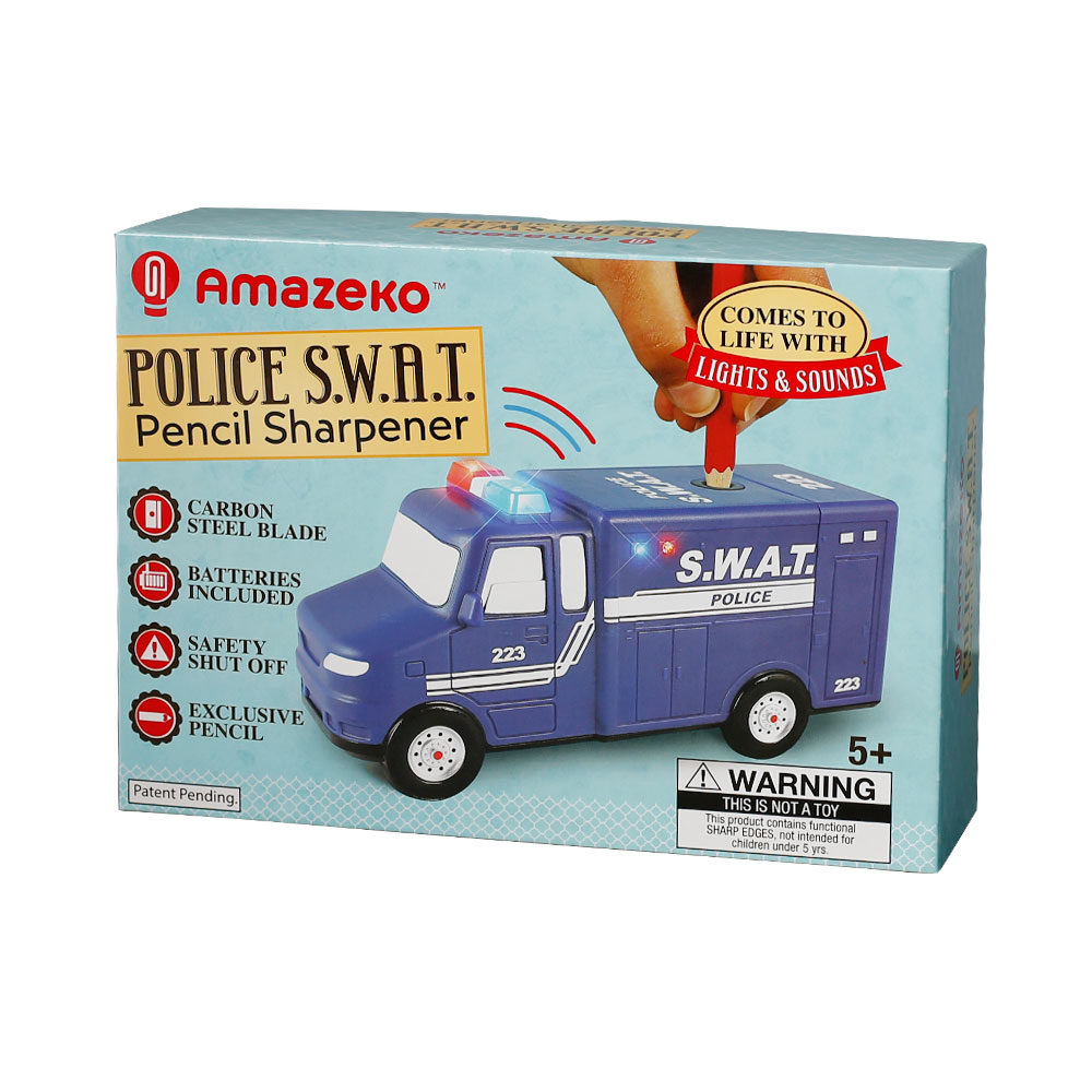 Police SWAT Pencil Sharpener